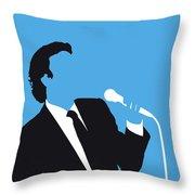 No279 My Julio Iglesias Minimal Music Poster Throw Pillow