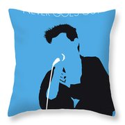 No289 My The Smiths Minimal Music Poster Throw Pillow
