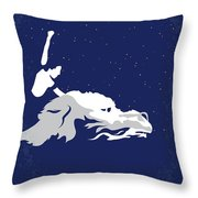No975 My The Neverending Story Minimal Movie Poster Throw Pillow