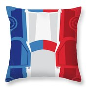 No982 My The French Connection Minimal Movie Poster Throw Pillow