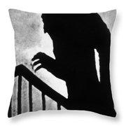 Nosferatu The Vampire Throw Pillow