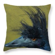 Not Funny Throw Pillow by Jani Freimann
