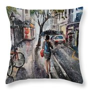 Nothing Better Than The Bad Weather Throw Pillow