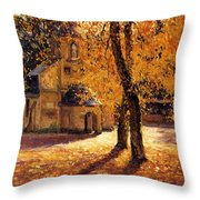 Notre Dame De Grace Honfleur Throw Pillow
