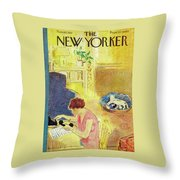 New Yorker November 10, 1951 Throw Pillow
