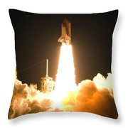 Now Is The Time To Launch Throw Pillow
