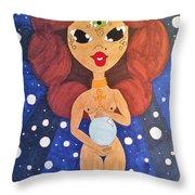 Nubian Epiphany  Throw Pillow