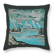 Number 2 - I Know Where To Go On A Cloudy Day Throw Pillow