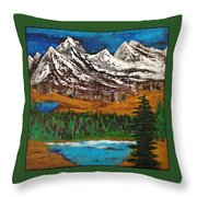 Number Four - Call Of The Wild Throw Pillow