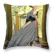 Nuria De Sants Throw Pillow