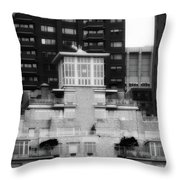 Nyc In Black And White Xiii Throw Pillow