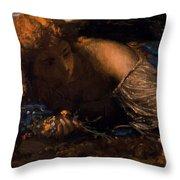 Nymph 1875 Throw Pillow