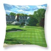 Oakmont Country Club Throw Pillow