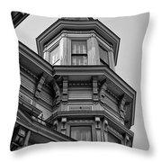 Observation Deck Throw Pillow