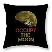 Occupy The Moon Throw Pillow
