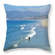 Ocean Beauty Throw Pillow
