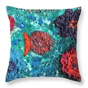 Ocean Emotion - Pintoresco Art By Sylvia Throw Pillow