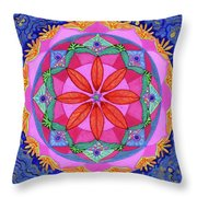 Ocean Of Love And Mercy Throw Pillow