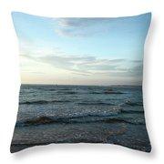 Ocean Sky Throw Pillow by Eric Christopher Jackson