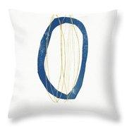 Ocean Zen 4- Art By Linda Woods Throw Pillow
