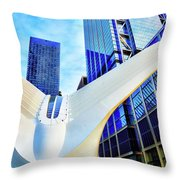Oculus Nyc Throw Pillow