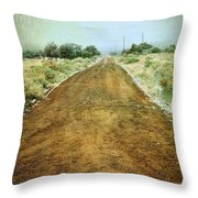 Ode To Country Roads Throw Pillow