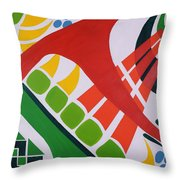 Ode To Oi Throw Pillow