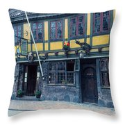 Odense Restaurant Throw Pillow