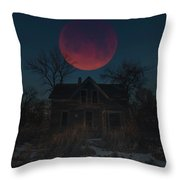 Of Wolf And Man  Throw Pillow