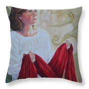 Offering The Issue Throw Pillow