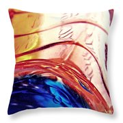 Oil And Water 26 Throw Pillow
