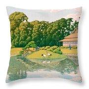 okayama kourakuen - Top Quality Image Edition Throw Pillow