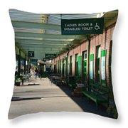 Okehampton Station Throw Pillow