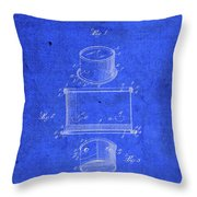 Old Ant Trap Vintage Patent Blueprint Throw Pillow