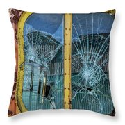 Old Glasses Throw Pillow