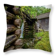 Old Mingus Mill Throw Pillow