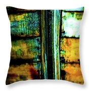Old Prow Throw Pillow