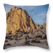 Old Woman Rock Throw Pillow