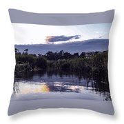 On The Bluff Throw Pillow