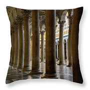 On The Side Throw Pillow