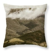 Oncoming Rains Throw Pillow