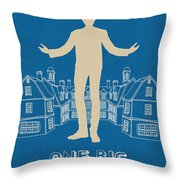 One Big Home Throw Pillow