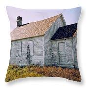 One Room Schoolhouse 1  Throw Pillow