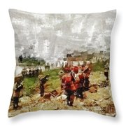 Operation Cottage, Wwii Throw Pillow