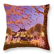 Opryland Hotel Christmas Throw Pillow
