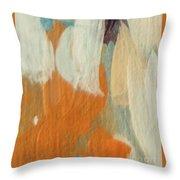 Orange #2 Throw Pillow