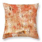 Orange Day Throw Pillow