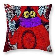 Orko Throw Pillow by Al Matra