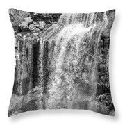 Oregon Wall Art, Oregon Print, Oregon Art, Pacific Northwest, Paulina Falls, Waterfall Art, Travel,  Throw Pillow by David Millenheft