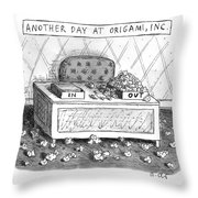 Origami, Inc. Throw Pillow